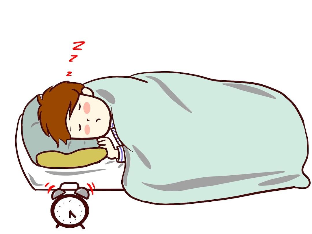 朝起きる時間が遅くなった