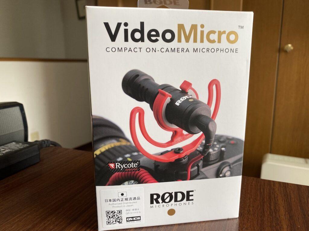 RODE video micro外観